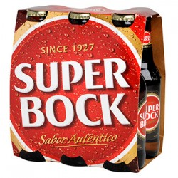 SUPER BOCK PACK 6 X 25 CL (Vendu par 4 packs)