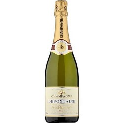 CHAMPAGNE DEFONTAINE BRUT 75CL 12.5°