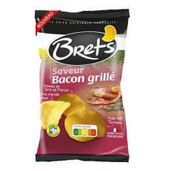 CHIPS BRET'S SAVEUR BACON GRILLE 125G