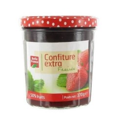 BELLE FRANCE CONFITURE FRAISE 370G