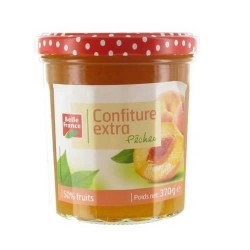 BELLE FRANCE CONFITURE EXTRA PÊCHES 370G