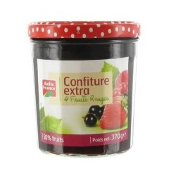 BELLE FRANCE CONFITURE EXTRA 4 FRUITS ROUGES  370G