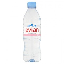 EVIAN PET 50CL X 24