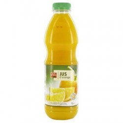 JUS D'ORANGE PUR JUS PET BELLE FRANCE 1L X 6
