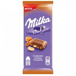 MILKA TABLET CACAHU CARAM 90G