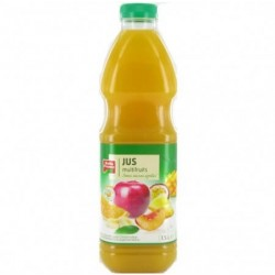 JUS MULTIFRUITS PUR JUS PET BELLE FRANCE 1.5L X 6
