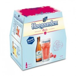 HOEGAARDEN ROSE PACK 6 X 25 CL (Vendu par 4 packs)