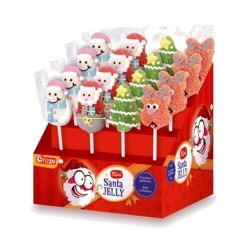 SUCETTE MINI SANTA JELLY 10G X 24
