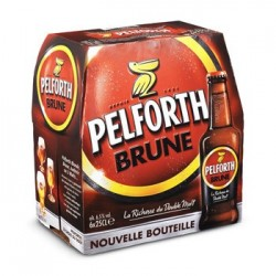 PELFORTH BRUNE PACK 6 X 25 CL (Vendu par 4 packs)