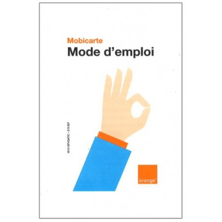 CARTE SIM ORANGE PACK