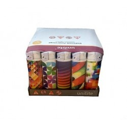 BRIQUET ELECTRONIC GRAPHIC MULTICOLOR X 50